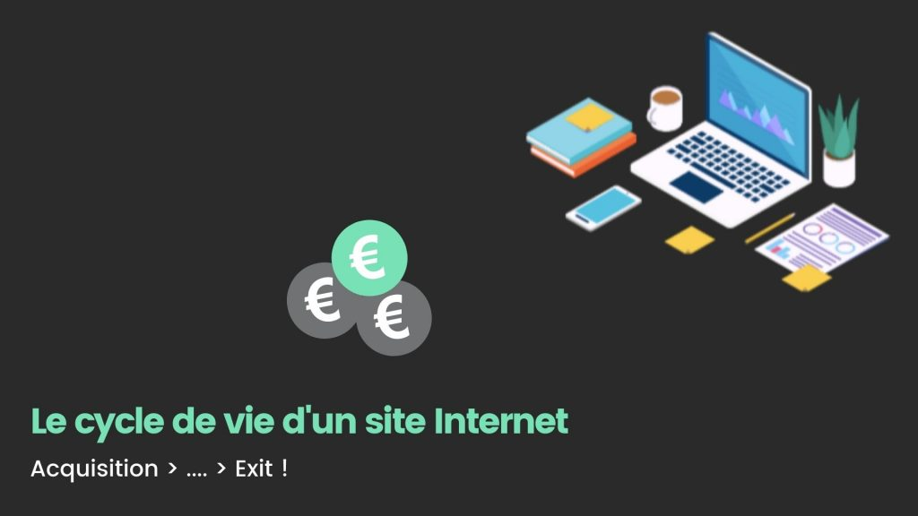 cycle de vie site internet